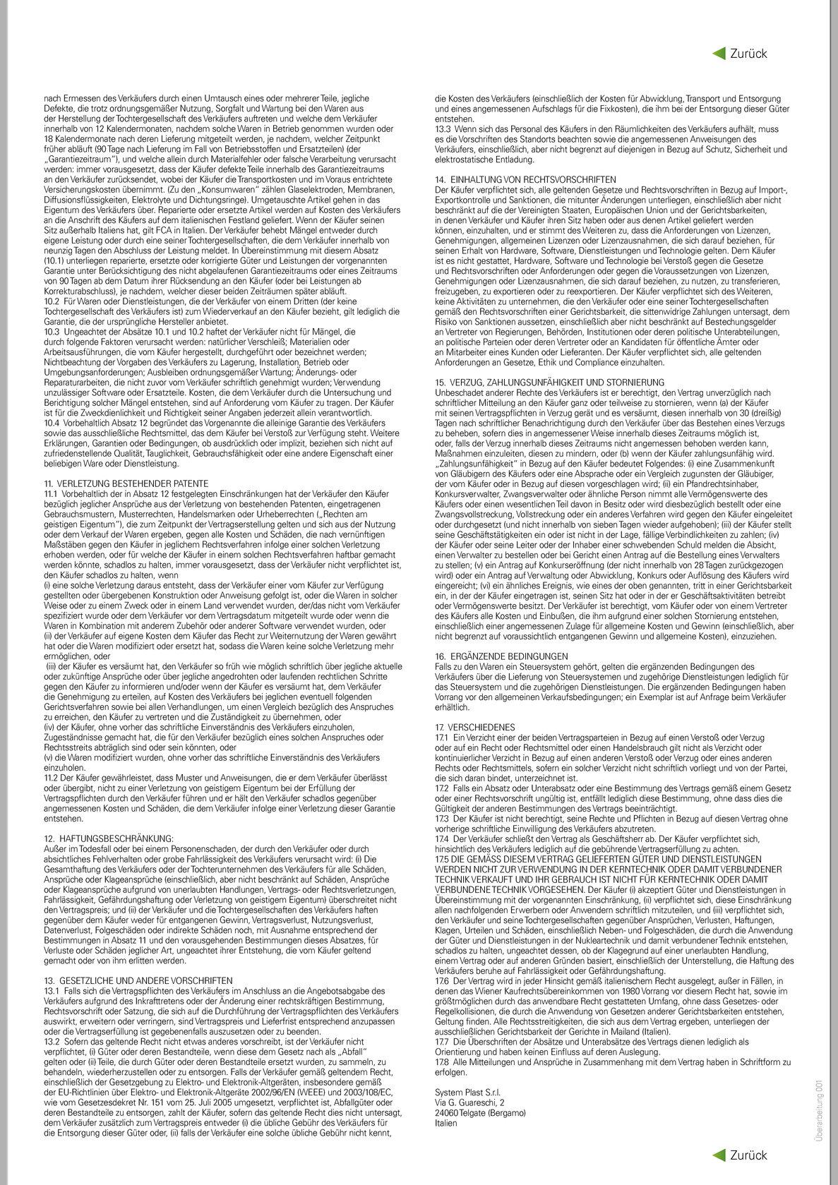 German Smart Guide - Page 79900A Allgemeine Lieferbedingungen